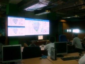 Diskusi mengenai PRB Banjir Jakarta 2012 di NEOnet BPPT.